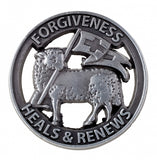 Reconciliation Lamb Forgiveness Pin
