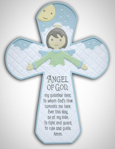 Angel of God Baby Cross