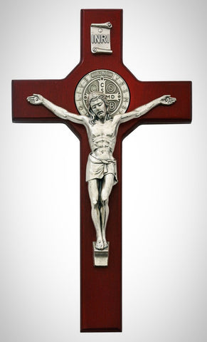 St. Saint Benedict Crucifix Cherry