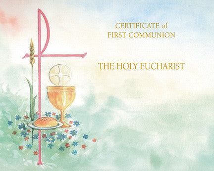 communion create your own certificate watercolour collection