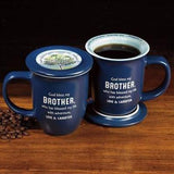 Brother Mug & Coaster Set