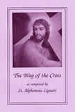 Way of the Cross By Alphonsus Liguori  - Large Print