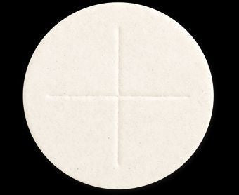 Altar Bread Celebrant in White - Size 2-3/4""