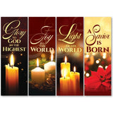 Christmas Lights Series Banners