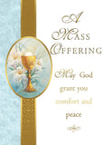 Mass Offering Deceased Mass Card MA 321