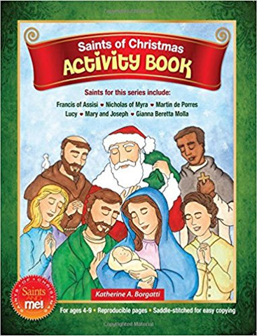 Saints of Christmas Activity Book    Saints & Me Series