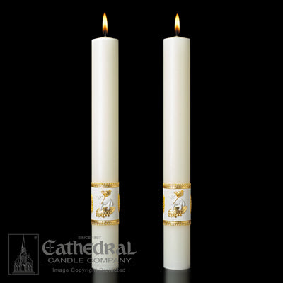 Altar Candles  Ornamented