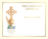 Communion Create Your Own Certificate  Spiritual Collection