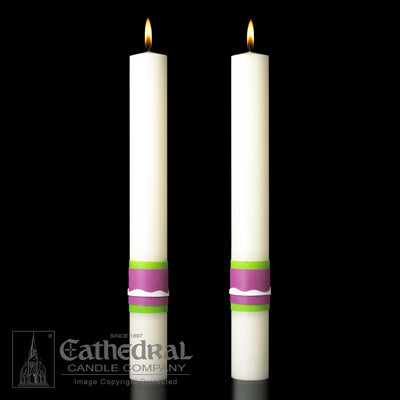 Altar Candle Easter Glory