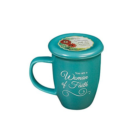 Woman of Faith Mug & Coaster Set