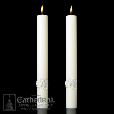 Altar Candles Good Shepherd