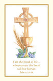 Communion Holy Card  Spiritual Collection