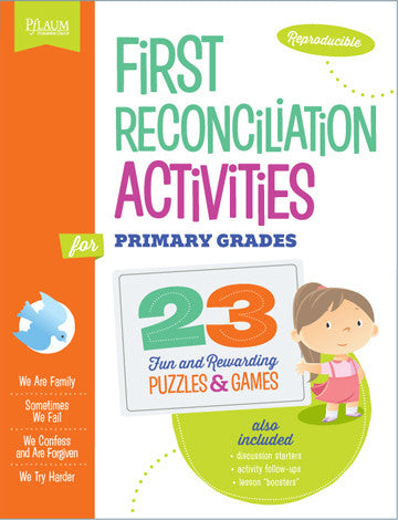 First Reconciliation Activities - Primary Grades