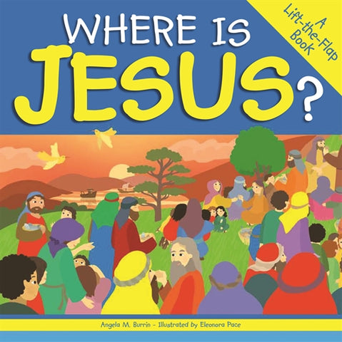 Where Is Jesus - Lift & Flip Book