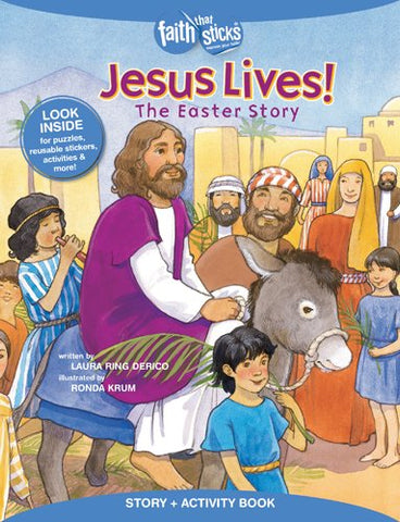 Jesus Lives The Easter Story & Activity Book