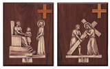 Bronze Stations of the Cross - K379