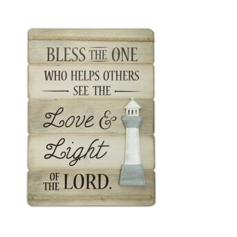 Love & Light of the Lord Wall Plaque