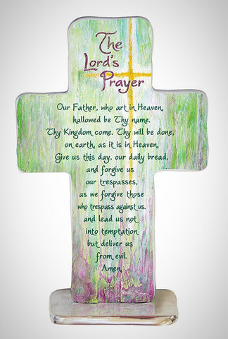 Lord's Prayer Standing Cross