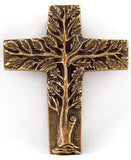 Tree of Life Cross, Bronze