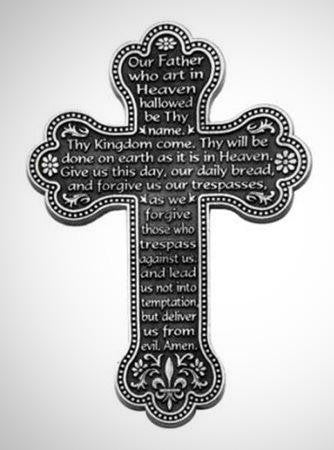 Our Lord's Prayer Cross