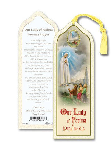 Our Lady of Fatima Bookmark