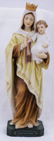 Our of Lady Mount Carmel Statue