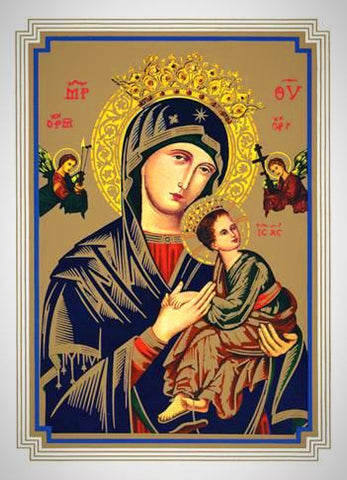 Our Lady of Perpetual Help - Mass Cards