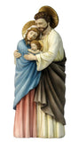 Hand-Painted Holy Family Statue