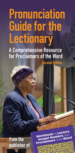 Pronunciation Guide for the Lectionary