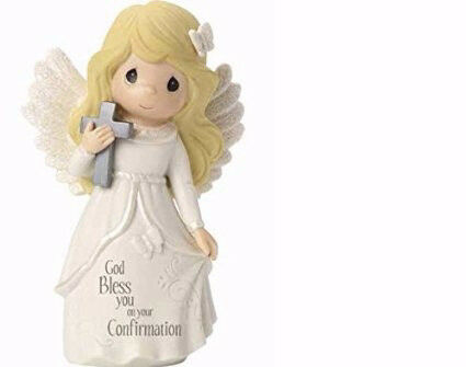 Precious Moments Figurine-Confirmation Angel
