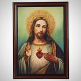 Sacred Heart Framed Picture