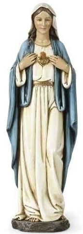 Immaculate Heart of Mary Statue  10""