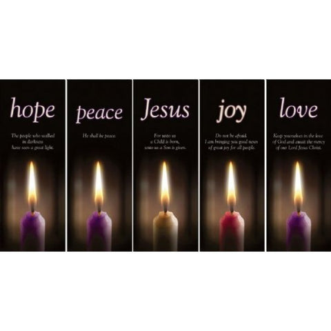 Advent Candle Series Banners