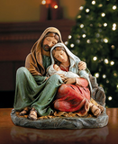 Holy Family Sleeping Statue