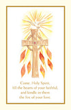Confirmation Spiritual Collection Holy Card