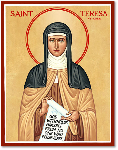 St Teresa of Avila icon