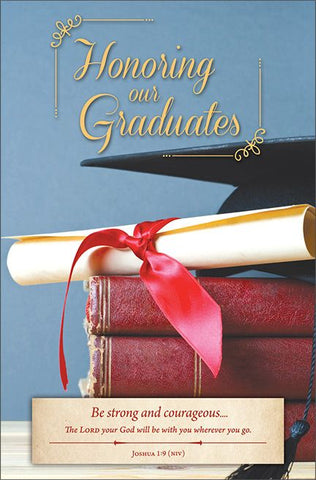 Graduation Bulletin - Honoring our Graduates