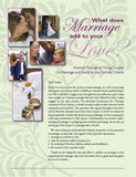 What Does Marriage Add To Your Love?