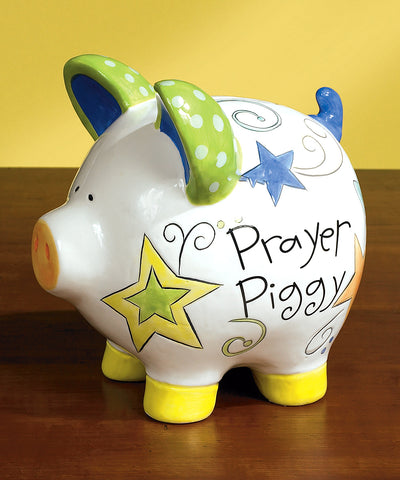 Prayer Piggy Bank and Card by Abbey Press