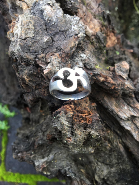 Genuine Silver 925 Om Ring