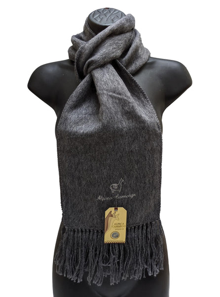Alpaca Wool Scarf - in Assorted Colours