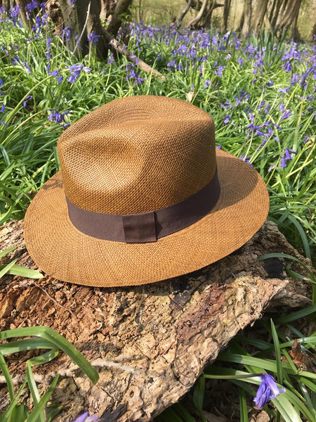 Genuine Panama Hat - in Brown