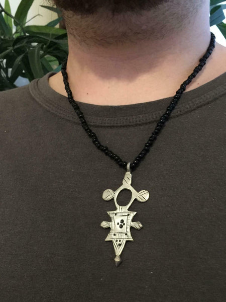 Tuareg Compass Necklace