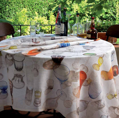 To Calculate The Correct Size For A Round Tablecloth, Measure The Diameter  (side To Side Through The Center Point).