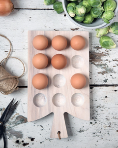 Araucana Egg Board by Farmhouse Pottery