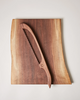 Board and Bow Set - Walnut by Farmhouse Pottery