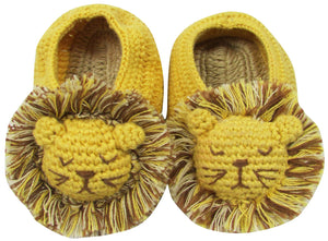 Crochet Lion Booties by Albetta