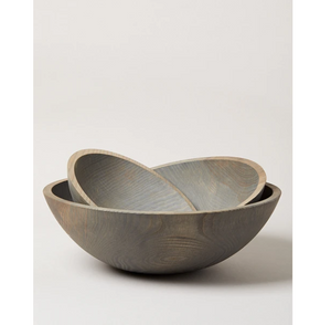 Crafted Wooden Bowl by Farmhouse Pottery