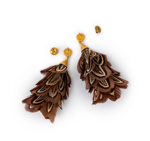 Marjan Earrings by Brackish