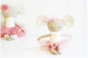 Mini Missie Mouse Ballerina Toy by Alimrose